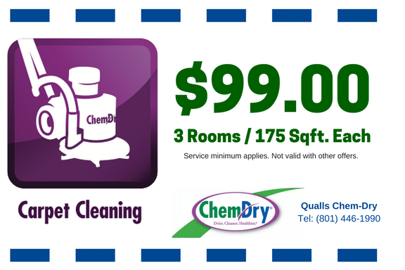 3 room carpet cleaning special