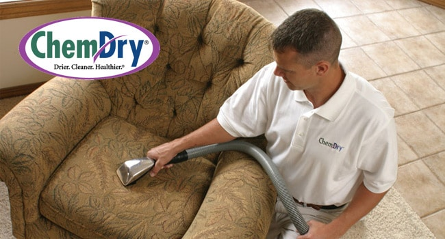 Upholstery Cleaning Tech